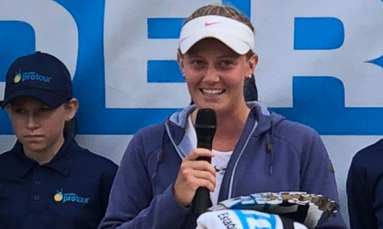Zoe Hives: I'm a bit shocked at how well I played today
