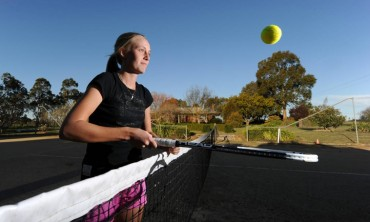 Ballarat tennis star Zoe Hives' journey from her home court in Kingston to the Australian Open