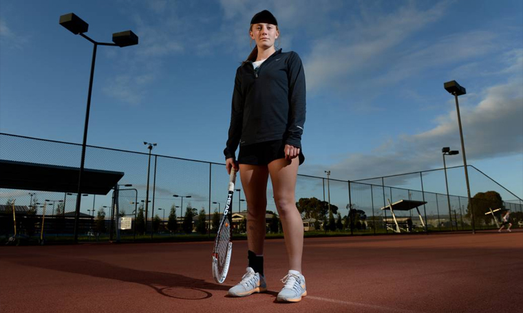 The family effort behind Zoe Hives' rise in the tennis world